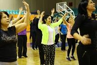 Başakşehirli kadınlar stresini dans ederek atıyor