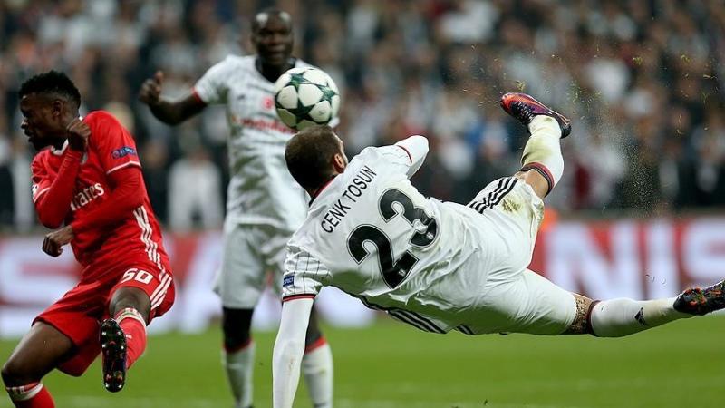 Beşiktaş,Benfica Maçının Golleri..Cenk'in Golünü İzle