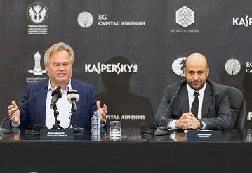 Dünya Satranç Şampyonası iki yıllığına Kaspersky Lab'a emanet