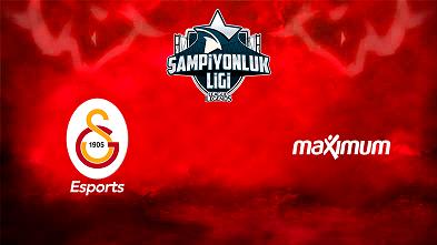 Galatarasay E-Spor Takımına Maximum Destek