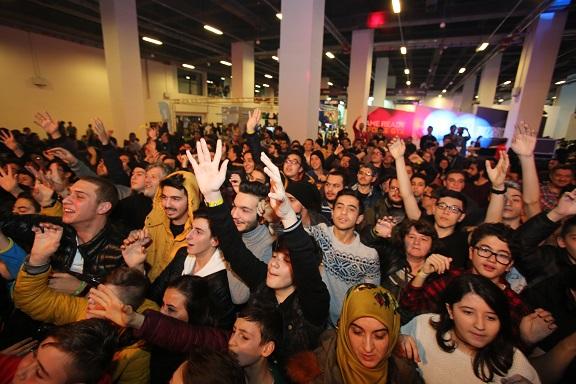 Gaming İstanbul 2017'ye Ziyaretçi Akını!