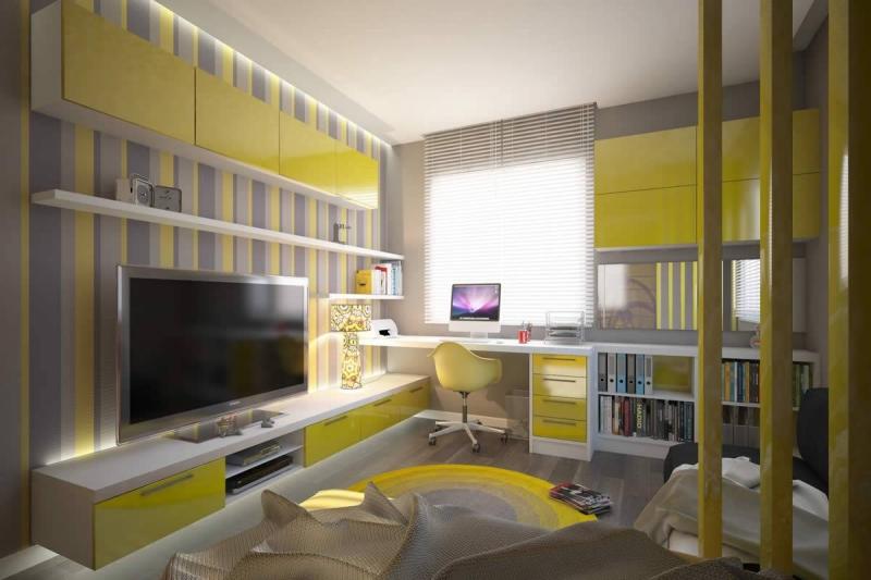 Genç Odası Tasarımında Dikkate Edilmesi Gereken Unsurlar