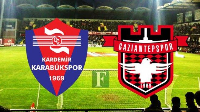 Karabükspor-Gaziantepspor Maçını Canlı İzle, Lig tv izle,Şifresiz İzle .iDDİA ORANLARI