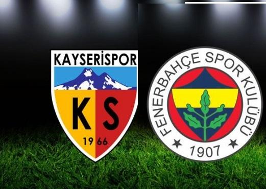 Kayserispor – Fenerbahçe maçını canlı izle 29 Ocak 2017
