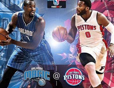 NBA'de kıyasıya rekabet; Detroit Pistons – Orlando Magic