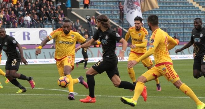 Osmanlıspor - Kayserispor:1- 1
