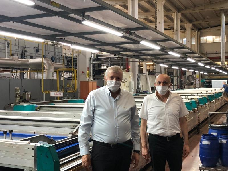 Tekstilcinin gözü uçuşların yeniden açılmasında Bursalı tekstilciler   Uçuşlar açılsın yeni ihracat rekorları kıralım