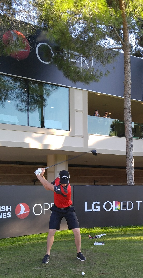 "Turkish Airlines Open Golf Turnuvası'nın ""Teknoloji Tedarikçisi"" LG OLED TV!"
