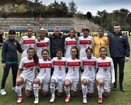 U19 Kadın Milli Takımı, Elit Tur'a yükseldi