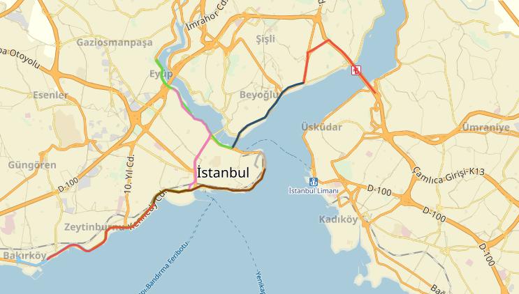 YANDEX'TEN VODAFONE 38. İSTANBUL MARATONU'NA ÖZEL HİZMET