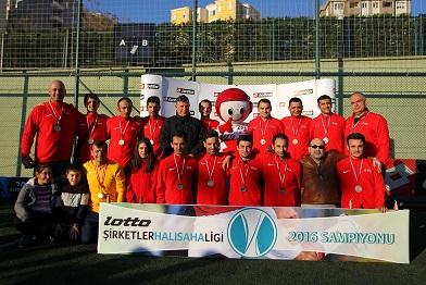 Albaraka Türk Lotto Şirketler Halı Saha Ligi'nin Şampiyonu Oldu!