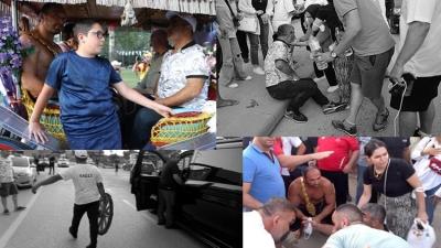 Ali Gürbüz'e nazar değiyordu, kaza atlattı!