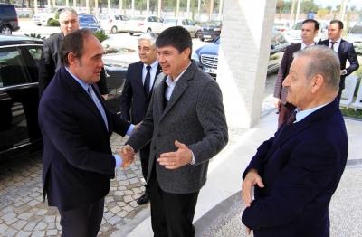 DEMİRÖREN VE TERİM'DEN ANTALYASPOR TESİSLERİNE ZİYARET