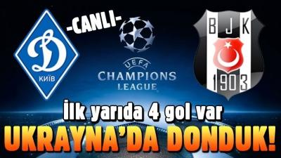 KARA KARTAL İLK YARI HAVLU ATTI 4 GOL YEDİ SAĞ OL BECK!!!