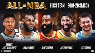 NBA'de senenin 5'leri belirlendi