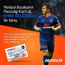 Passolig alan Medipol Başakşehir taraftarı Emre Belezoğlu ile tanışacak