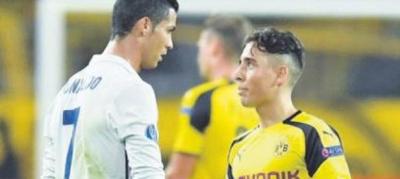 Ronaldo Emre Mor'a Formasını Neden Vermedi ?