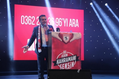 Samsunspor'un Diriliş Gecesi BU AŞKIN KAHRAMANI SENSİN!