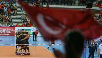 Türkiye - Belarus: Veleybol Turnuvasında 3 -0 Galip Geldi