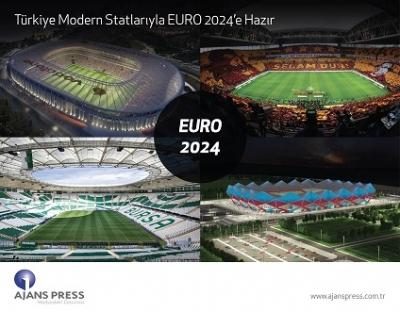 TÜRKİYE MODERN STATLARIYLA EURO 2024'E HAZIR