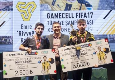 Türkiye'nin ilk lisanslı FIFA E-Spor turnuvasının şampiyonları GIST'te belli oldu