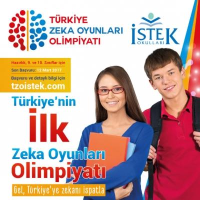Türkiye'nin ilk Zeka Oyunları Olimpiyatı başlıyor